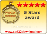 Destruction II 1.00 5 stars award