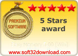 Easy Memory 5.00 (Win) 5 stars award