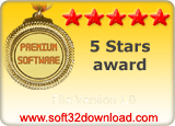 File Version 1.0 5 stars award