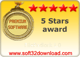 FilePadlock 1.0 5 stars award
