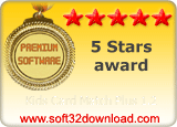 Kids Card Match Plus 1.2 5 stars award