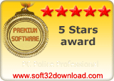 PC Police Professional  5 stars award