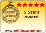 z/Scope Classic 6.0 5 stars award