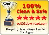 Registry Trash Keys Finder AWARD