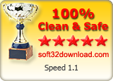 Speed 1.1 Clean & Safe award