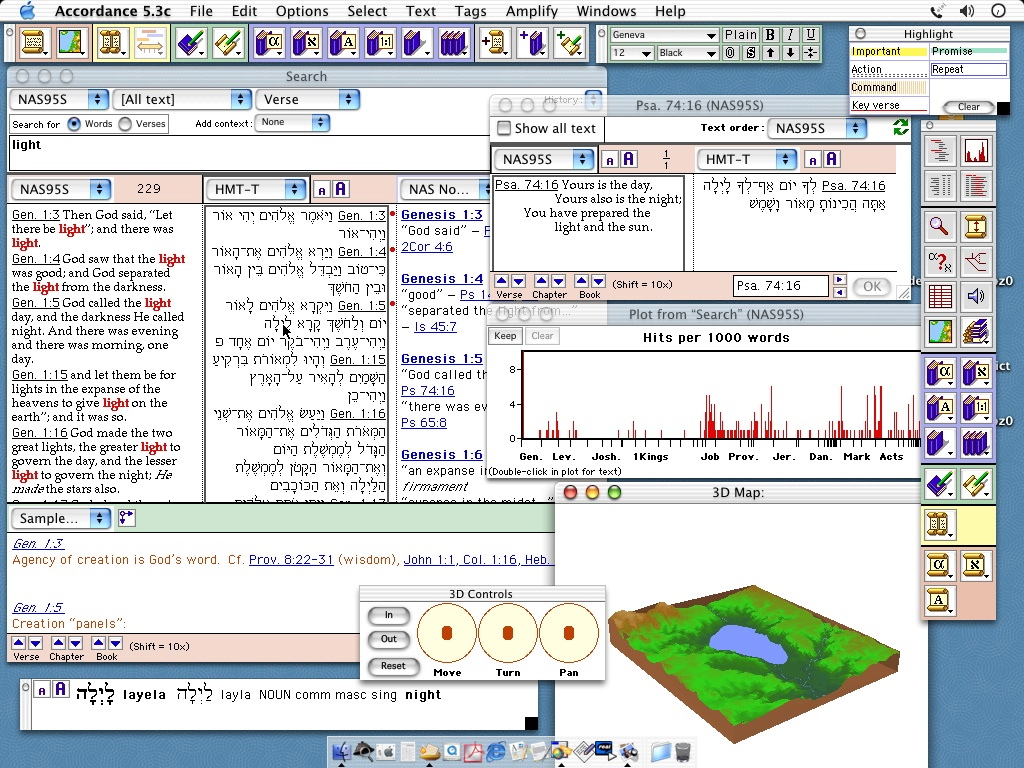 Accordance 10.3.4 Mac software screenshot