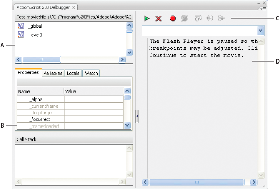 Adobe Flash Player Debugger 13.0.0.206 Mac software screenshot