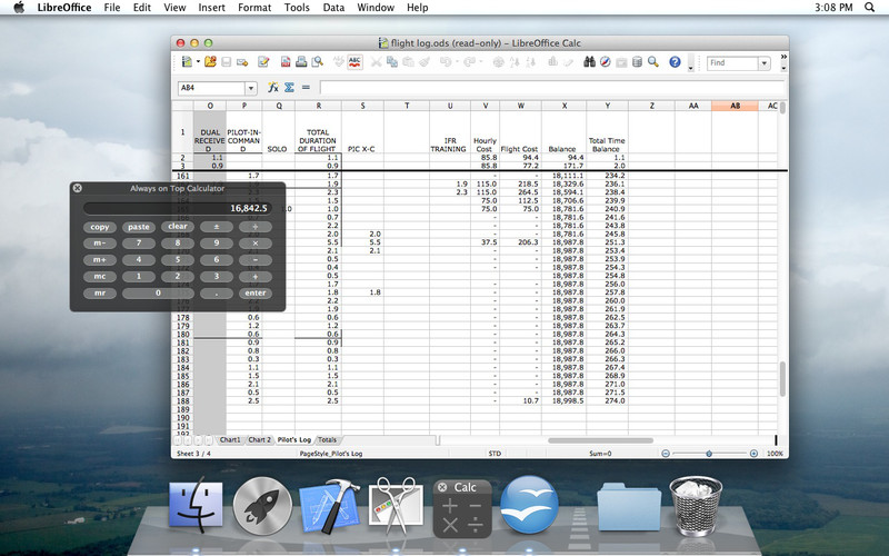 Always on Top Calculator 4.8.2 Mac software screenshot