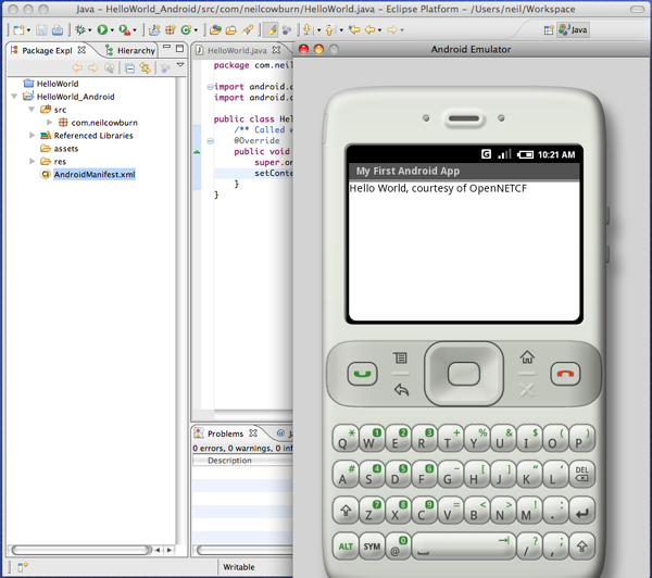 Android SDK R23.0.0 Mac software screenshot