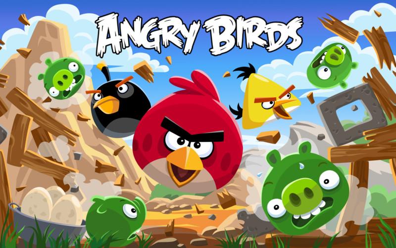 Angry Birds 4.0.0 Mac software screenshot