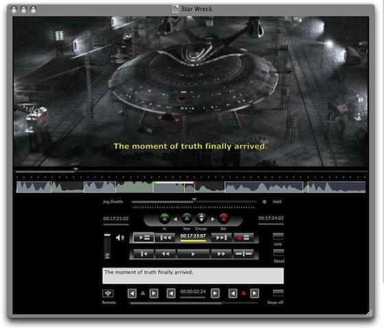 Annotation Edit 1.9.50 Mac software screenshot