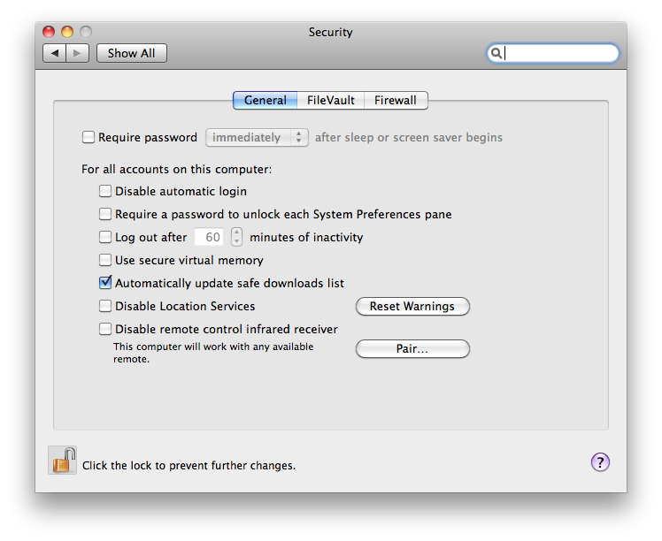 Apple Security Update 2014-003 Mac software screenshot