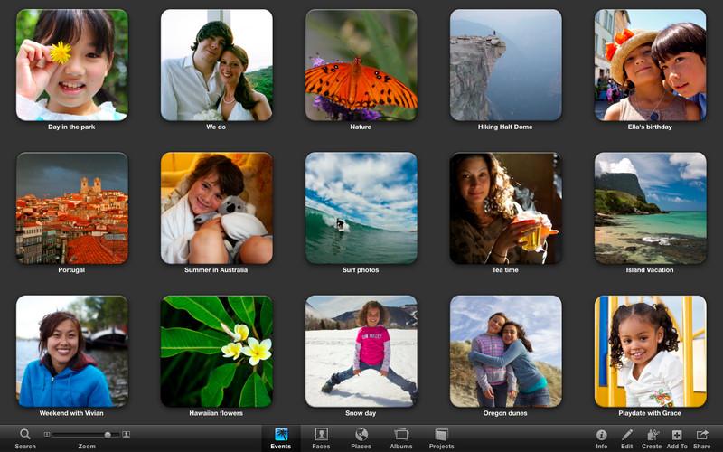 iPhoto 9.5.1 Mac software screenshot