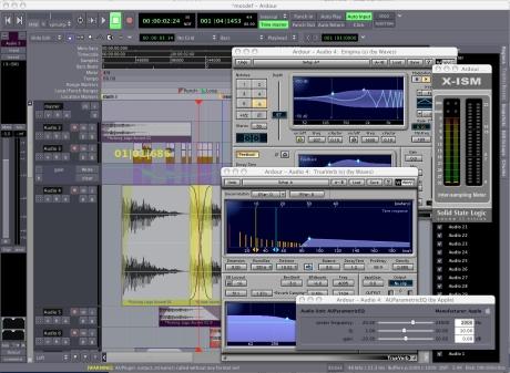 Ardour 2.8.16 Mac software screenshot