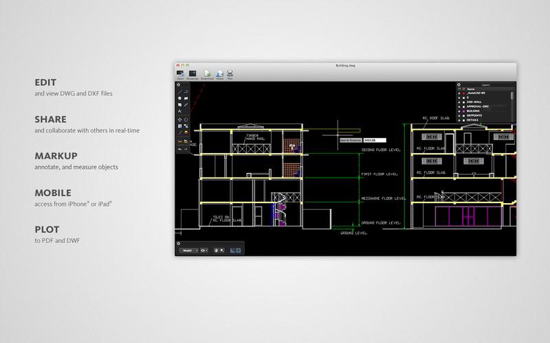 AutoCAD WS 2.0.3 Mac software screenshot