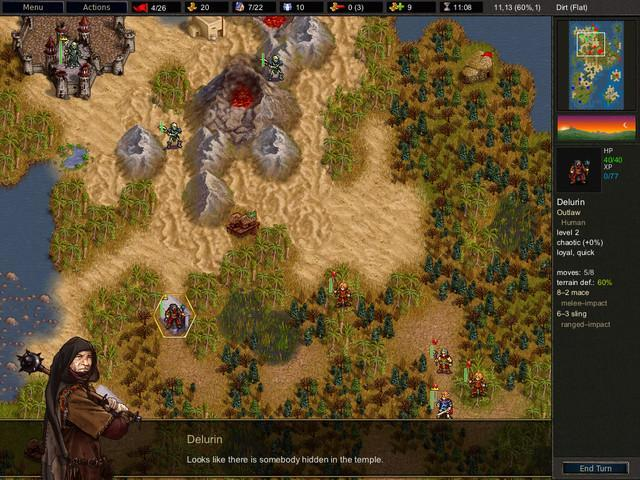 Battle For Wesnoth 1.10.7 Mac software screenshot