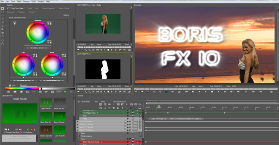 Boris FX 10.0.1.60 Mac software screenshot