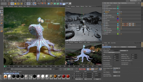CINEMA 4D 16.021 Mac software screenshot