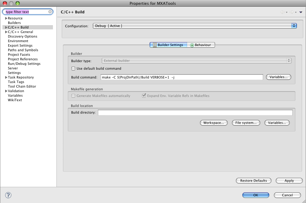 CMake 3.0.0 Mac software screenshot