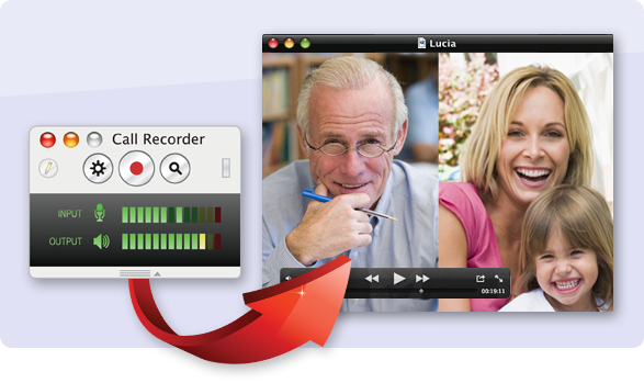 Call Recorder for Skype 2.5.9 Mac software screenshot