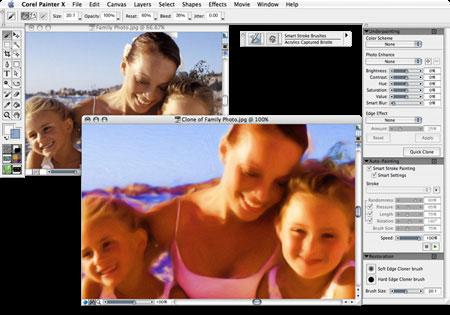 Corel Painter 13.0.1.920 Mac software screenshot
