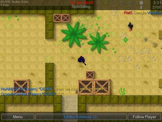 Counter-Strike 2D 0.1.2.2 Mac software screenshot