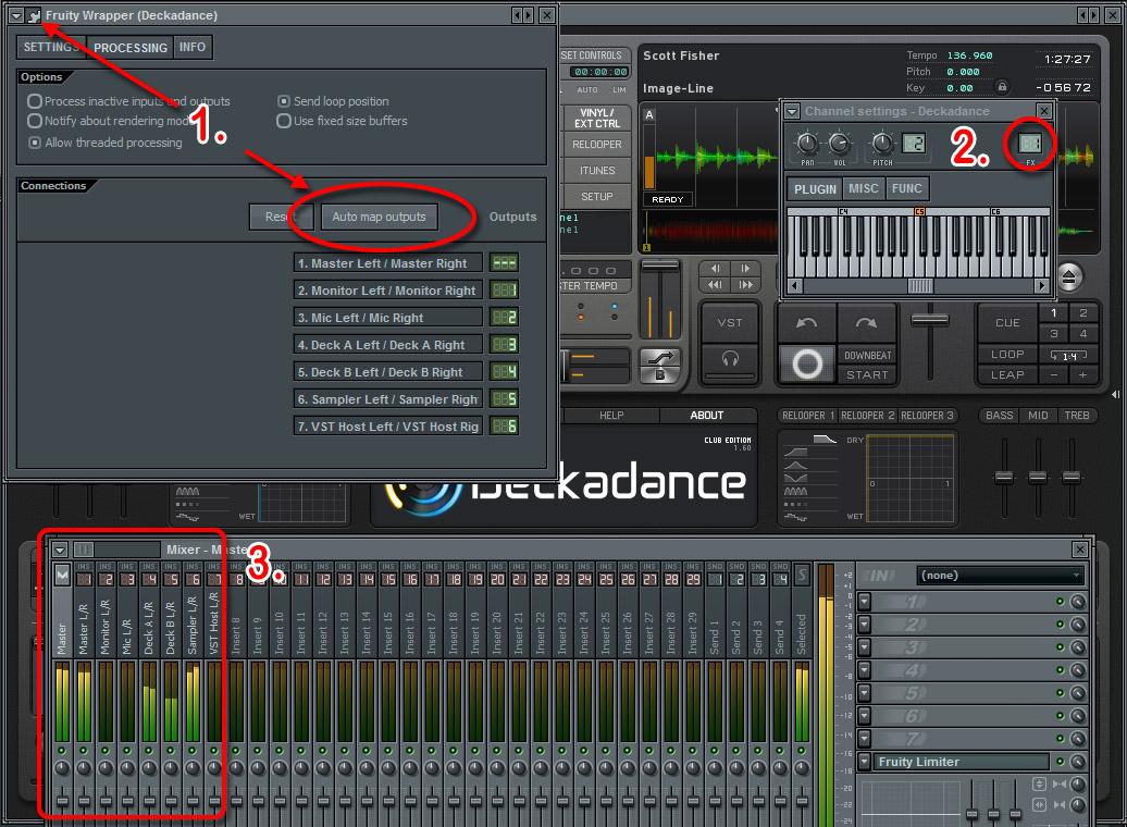 Deckadance 2.2 Mac software screenshot