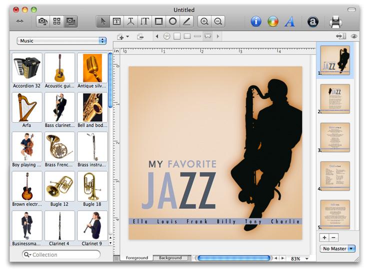 Disc Cover 3.0.10 Mac software screenshot
