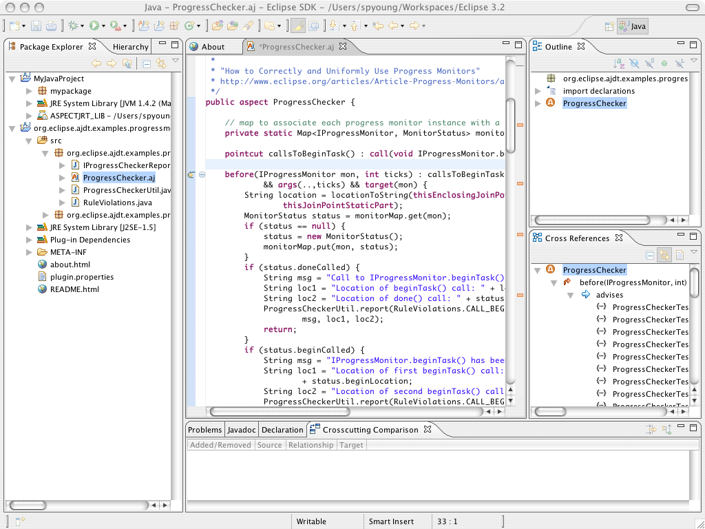 Eclipse SDK 4.3.2 Mac software screenshot