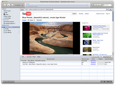 Elmedia Player 4.3.6 Mac software screenshot