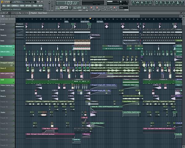FL Studio 11.0.2-1 Beta Mac software screenshot