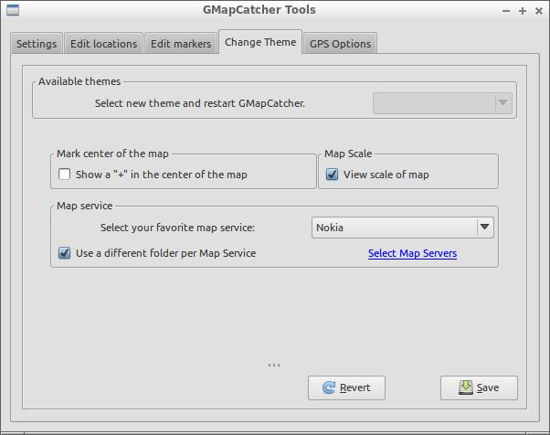 GMapCatcher 0.8.0.4 Mac software screenshot
