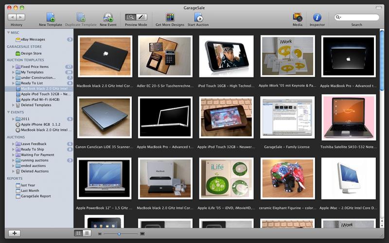 GarageSale 6.6.3.523 Mac software screenshot