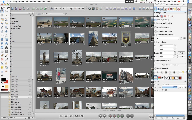 Gimp 2.8.10p2 Mac software screenshot
