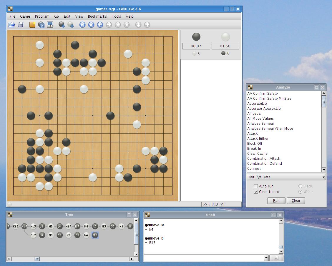 GoGui 1.4.7 Mac software screenshot