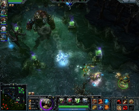 Heroes of Newerth 3.4.3 Mac software screenshot