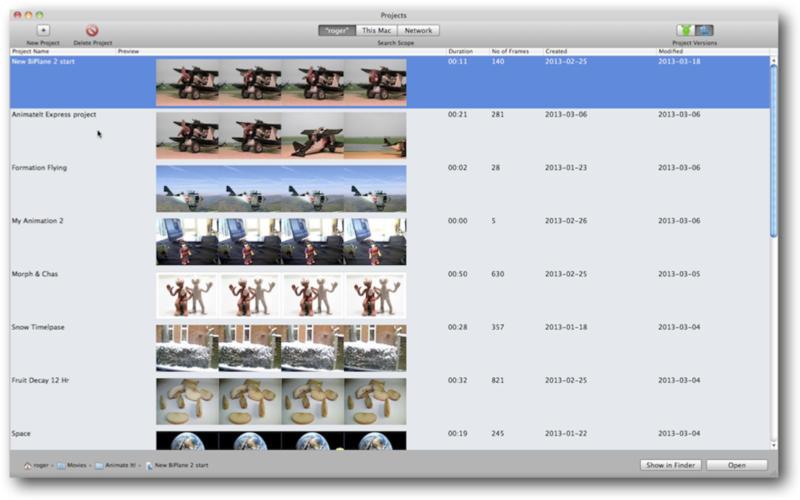 I Can Animate 2.2.0 Mac software screenshot