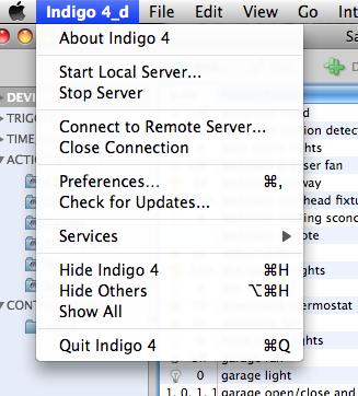 Indigo 5.1.8 Mac software screenshot