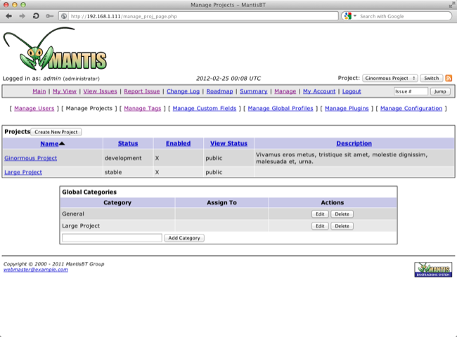 JumpBox for Mantis 1.7.9 Mac software screenshot