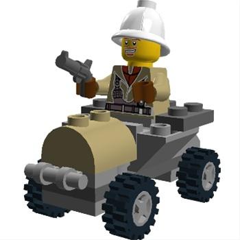 LEGO Digital Designer 4.3.8 Mac software screenshot
