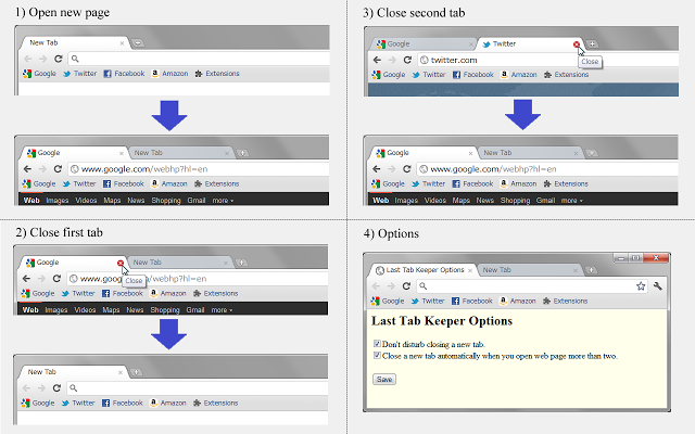 Last Tab Keeper 1.2.5 Mac software screenshot