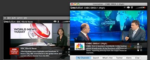 Livestation 3.3.0 Mac software screenshot