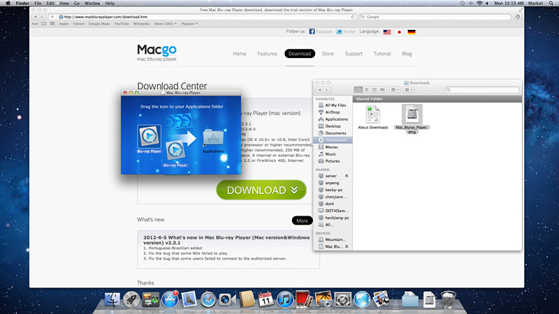 Mac Blu-ray Player 2.10.5.1659 Mac software screenshot