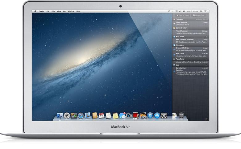 Mac OS X Mountain Lion 10.8.3 Mac software screenshot