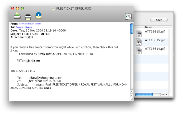 MailRaider 2.0.13 Mac software screenshot