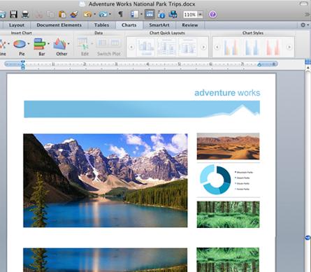 Microsoft Office 2008 12.3.6 Mac software screenshot