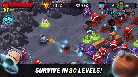 Monster Shooter The Lost Levels 1.5.1 Mac software screenshot