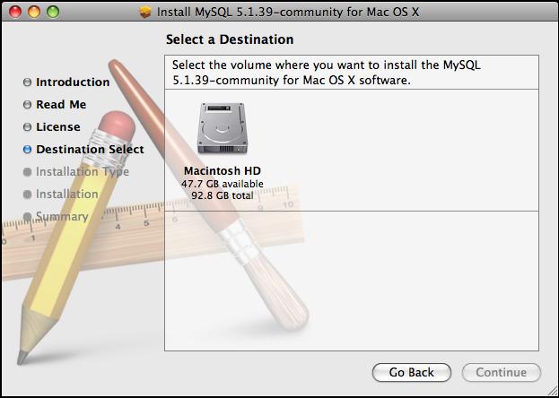 MySQL 5.6.20 Mac software screenshot