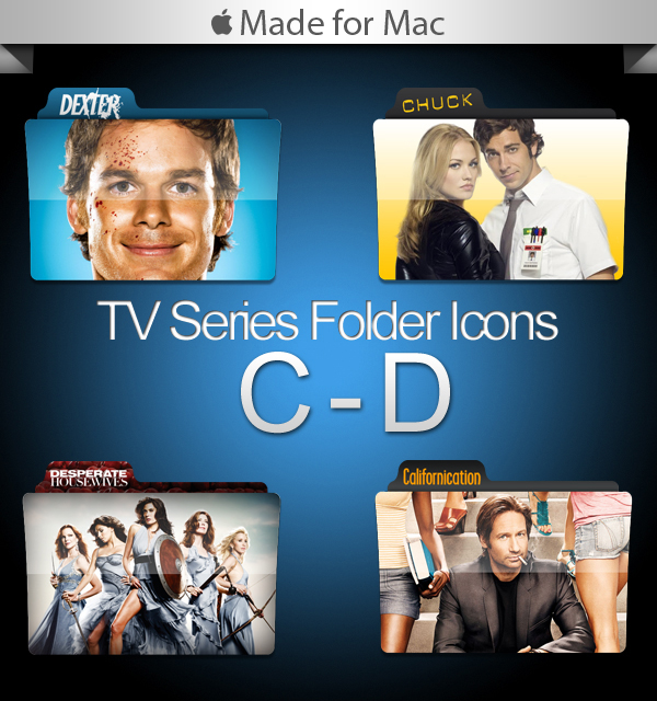 New TV Series Folders  Mac software screenshot
