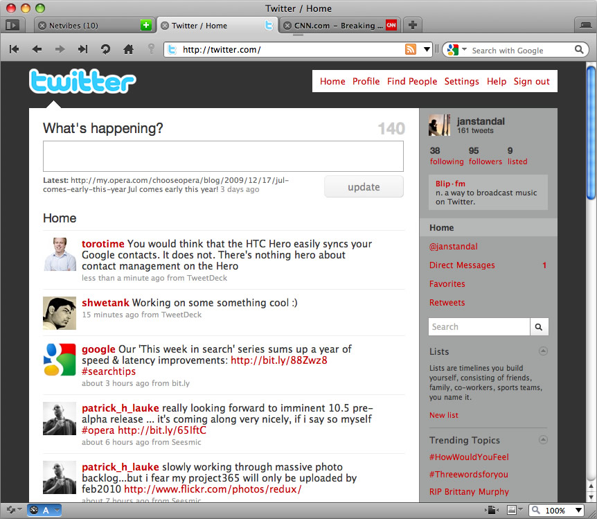 Opera 19.0.1326.63 / 20.0. Mac software screenshot